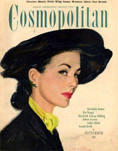 Cosmopolitan magazine September 1946 full issue with Coby Whitmore cover Life Magazine, Magazine Art, Magazine Covers, Vintage Book Covers, Vintage Magazines, Vintage Advertisements, Vintage Ads, Cosmopolitan Magazine, Fashion Cover