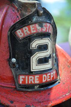 Vintage fireman hat