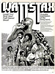 WATTSTAX on Ebony.   March, 1973.