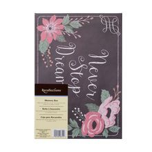 Decorative Memory Box by Recollections, Chalkboard