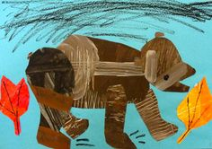 K Eric Carl Art Lesson