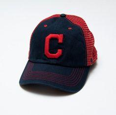 bc2e4b251de Cleveland Indians  47 Taylor Closer Mesh Hat