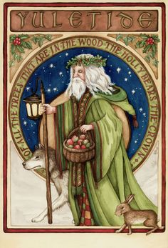 """Winter Solstice: """"Father Winter,"""" by Shona M. Macdonald, for the #Winter #Solstice."""