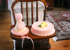 Pink lemonade birthday party baby shower idea. See more at www.karaspartyideas.com