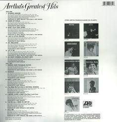 Aretha Franklin – Aretha's Greatest Hits VINYL LP