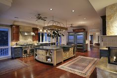 When I have a house, I want my kitchen to be just as big, and just as beautiful.