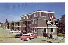 Beautiful postcard from Canada. Sudbury Canada, West End, Motel, Ontario, This Is Us, Memories, Photos, Vintage, Beautiful