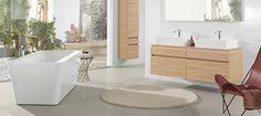 Pomysł na wyposażenie łazienki villeroy & boch