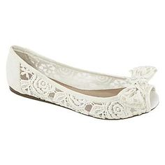 Wedding day flats at Sears.com