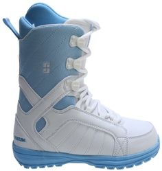 Forum Bebop Snowboard Boots WhiteBlue Womens Sz 7 -- Click image for more details. This is an Amazon Affiliate links.