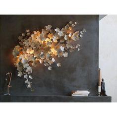 Art et Floritude Pandore wall light