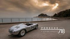 The Porsche 718 Is A Living Legacy - Petrolicious Steve Mcqueen Le Mans, Car Websites, Porsche 550, Porsche Boxster, Ferrari 288 Gto, Bmw M1, Jaguar Xk120, Vintage Classics, Classic Cars
