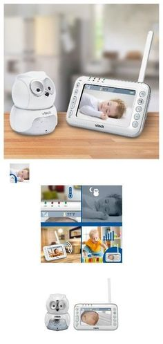 Baby Monitors 20435: Vtech Owl Digital Video Baby Monitor With Pan And Tilt Camera - White -> BUY IT NOW ONLY: $76.89 on eBay!