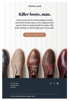 How to find the perfect pair of boots
