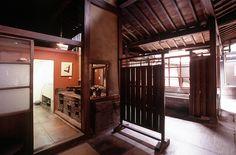 Interior of the Yoshijima House, Takayama, Japan.