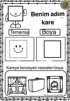 Kindergarten Activities, Preschool, Homework, Worksheets, Acting, Concept, Math, Geometric Fashion, Activities