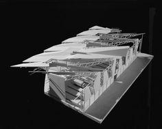 Frankfurt Waste Management Facility - Model | Morphopedia | Morphosis Architects