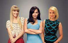 the unholy trinity Glee Memes, Glee Quotes, Finn Glee, Naya Rivera Glee, Rachel And Finn, Quinn Fabray, We Love Each Other, Glee Club, Heather Morris