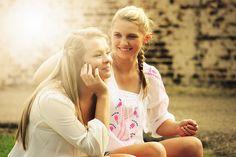美しい, 女の子, 幸せ, 若いです, にこやか, 人, 素晴らしい