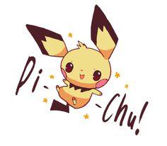 Pichu Pikachu Raichu, Cute Pikachu, Pokemon Stuff, Pikachu Evolution, Pokemon Fusion, Kawaii Cute, Super Smash Bros, Anime Chibi, Hama