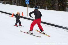 Take your toddler skiing this winter #backtoski