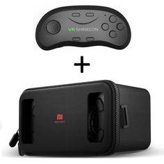 "XIAOMI VR Headset για Smartphone(4.7-5.7"") & Bluetooth SC-B01 3d Glasses, Vr Headset, Virtual Reality, Bluetooth, Smartphone"
