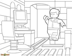 emmet coloring page - 1000 images about lego pages on pinterest the lego