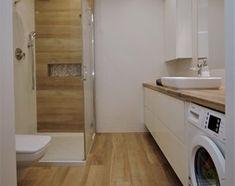 Narrow Bathroom, Cute House, Cozy Living Rooms, Bathroom Interior Design, Bathroom Inspiration, Washing Machine, Garage Apartments, Toilet, Sweet Home