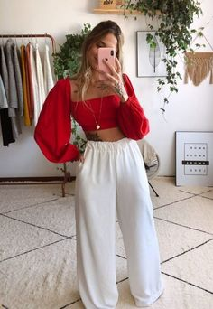 Cute Casual Outfits, Girl Outfits, Fashion Outfits, Look Fashion, Girl Fashion, Womens Fashion, Outfit Goals, Look Chic, Looks Style