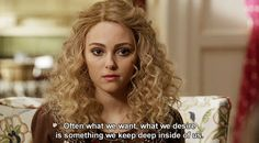 The Carrie Diaries. Haven't watched the Carrie diaries but this is an interesting quote.