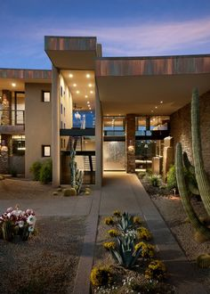 Striking contemporary home in the Arizona desert Contemporary homes www.altosdelosmonteros.com ask for next villa E27