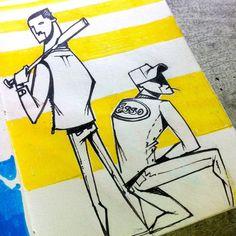 #sketch #sketchbook #draw #drawing #illustration #studies #baseball #character #handmade #blackandwhite #pencil #studio #yellow #forfun #justforfun