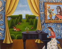 Art and Quote of the day....., painting by artist Catherine Nolin