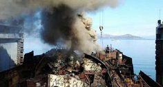 --- SUBMARINOS ---: Submarino nuclear ruso sufrio un incendio durante el desguace