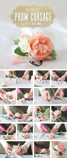 New Ideas for diy wedding flowers boutonniere wrist corsage Diy Boutonniere, Prom Corsage And Boutonniere, Flower Corsage, Wrist Corsage Diy, Diy Corsages, Bridal Shower Corsages, Thistle Boutonniere, Wristlet Corsage, Wedding Bouquets