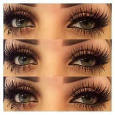 MYKONOS Lashes REAL 3D MINK STRIP Lilly Lashes Siberian Mink  | eBay ❤ liked on Polyvore featuring beauty products, makeup and eye makeup