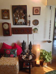 Home Tour: Ditu Di — An Affair With Color That antique clock