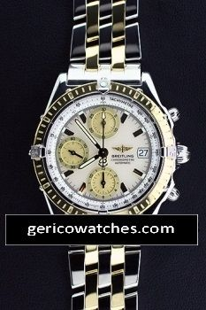 Maiken Group - Pre-Owned Breitling Chronomat with White MOP Dial, $4,150.00 (http://stores.gericowatches.com/breitling-chronomat-with-white-mop-dial/)