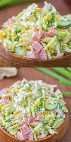 Healthy Dinner Recipes, Low Carb Recipes, Cooking Recipes, Ham Recipes, Healthy Food, Recipes For Lunch, Healthy Broccoli Salad, Easter Recipes, Side Dish Recipes
