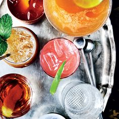 For his mojito Jell-O shots, Iron Chef Michael Symon adds white rum, lime and fresh mint to plain gelatin. It's a sophisticated version of the lowbrow shot.