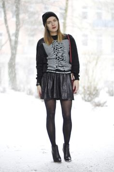 hoard of trends: outfit: in the snow. ⎜personal style and fashion blog by magdalena from berlin