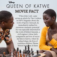 Queen of Katwe Movie Facts - How it Became a Film #QueenofKatwe #TheBFGEvent ad