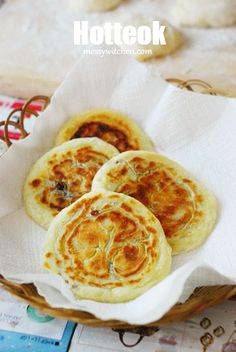 Korean Recipe: Hotteok w/ ingredients easily found in the U.S.