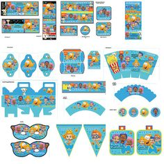 Bubble Guppies Party Printable