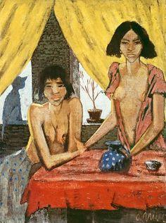 Otto Mueller mejores pintores