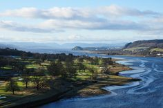 River Clyde From Erskine Bridge. Love water :)