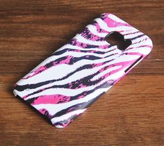 Zebra Fashion Pink Samsung Galaxy S6 Case for Galaxy S7/S6/S5/Note 5