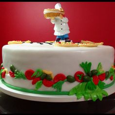 Made by my mom! Pizza Cake, Pizza Party, Mom, Desserts, Tailgate Desserts, Deserts, Postres, Dessert, Mothers