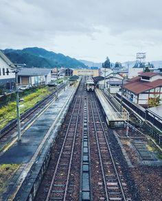 #君の名は  #飛騨古川駅