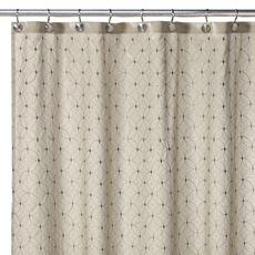Arianna sage shower curtain